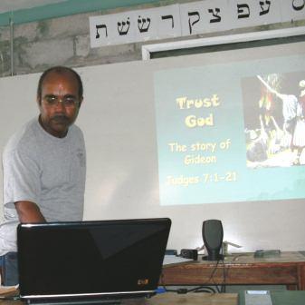 Kevin Teaching