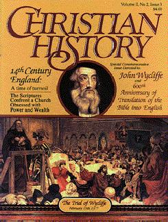 Christian History Vol 3, John Wycliffe