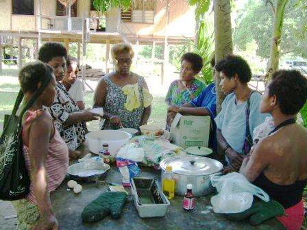 Gertrude's Village cooking class